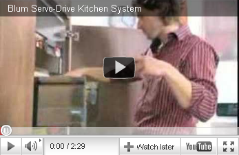 Blum Servo-Drive Kitchen system